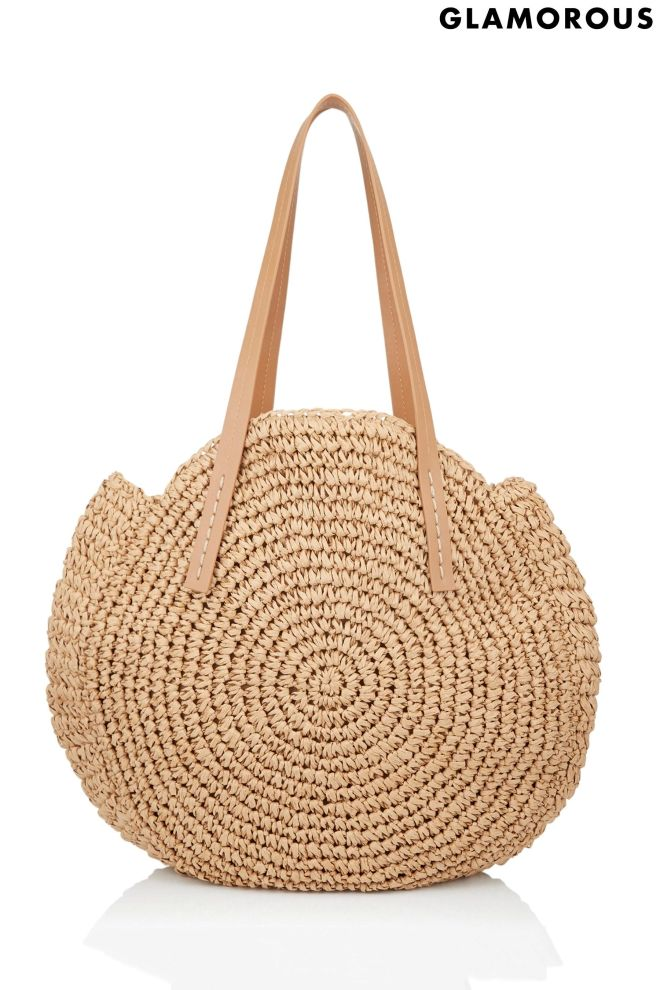 Glamourous at Next straw bag £32