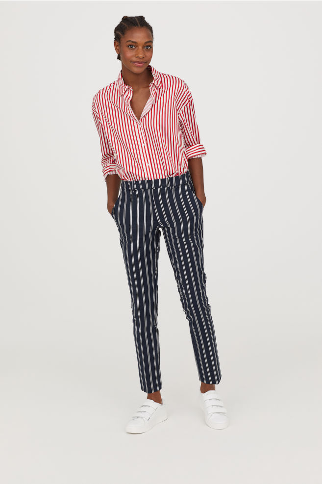 H&M cigarette trousers £17.99