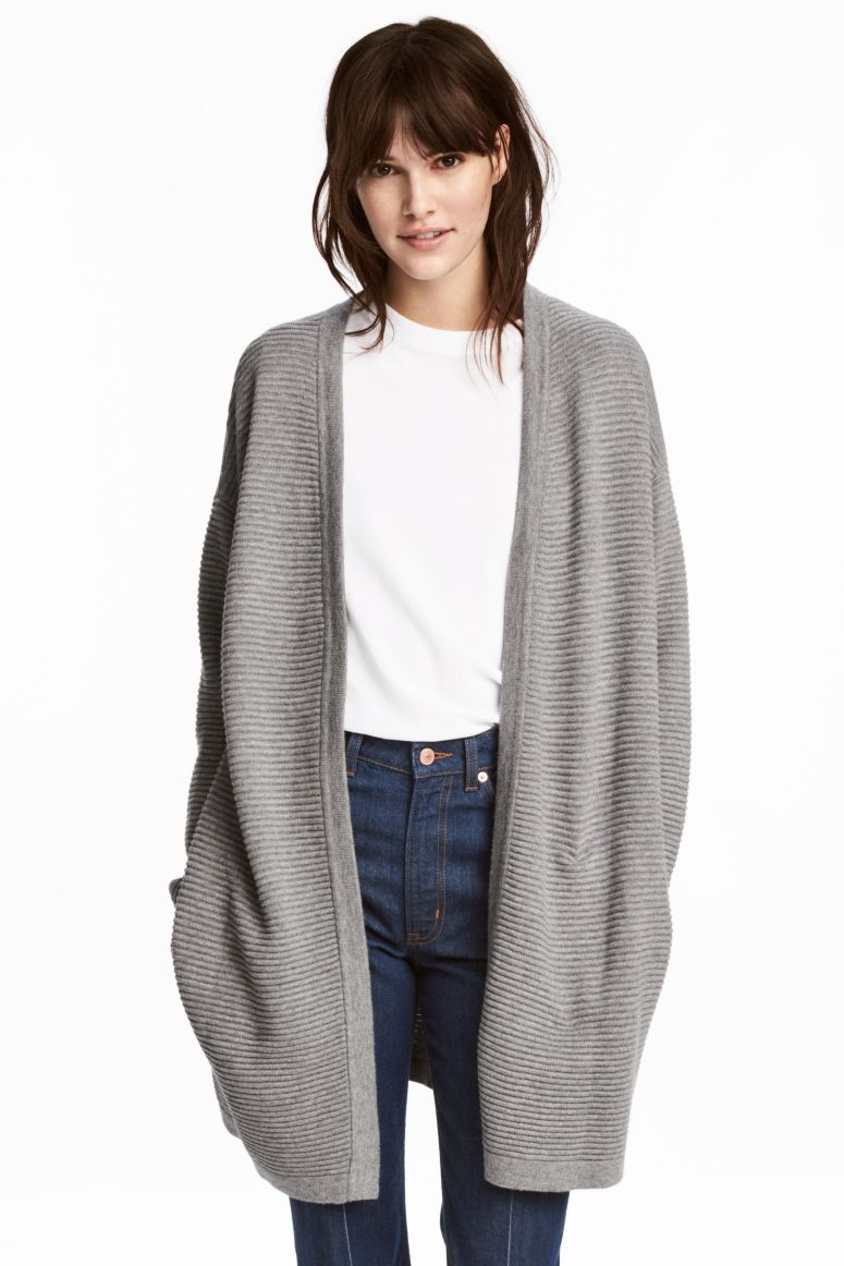 H&M rib knit cardigan £29.99