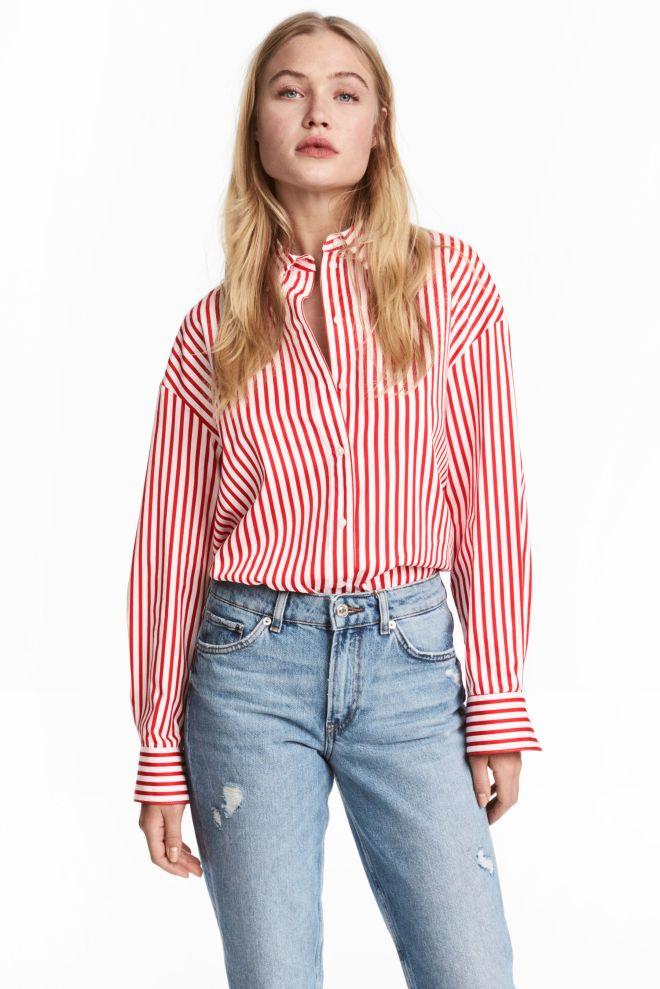 H&M striped shirt £17.99