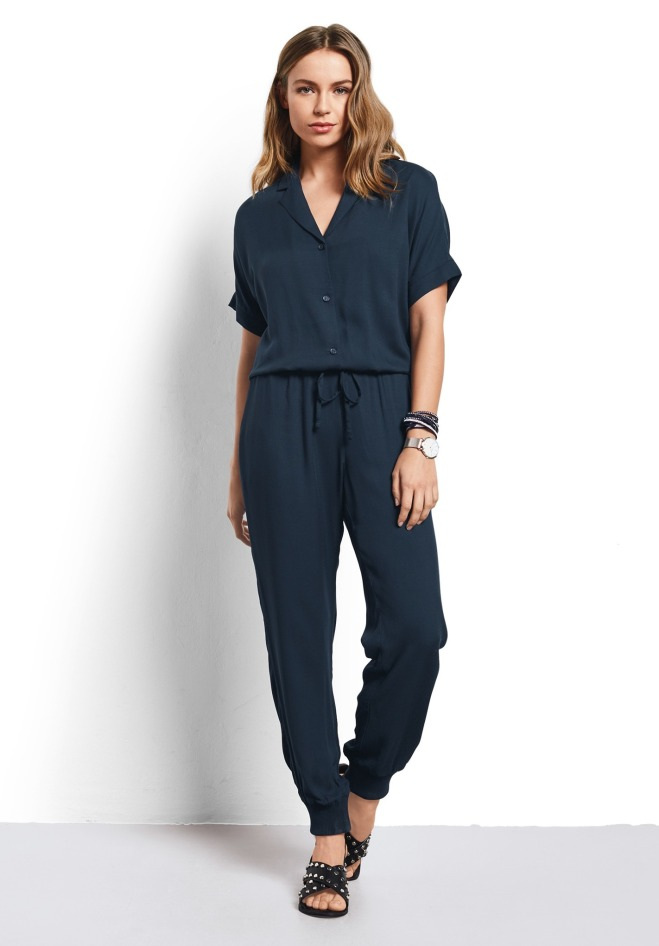 Hush SS Jumpsuit £75 blueberry