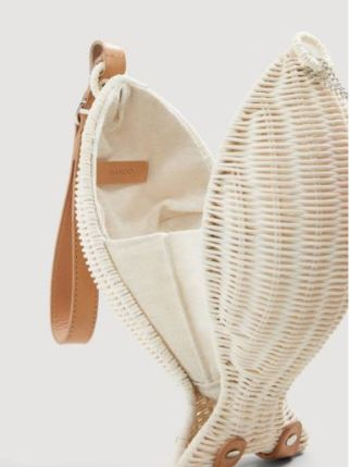 Mango Fish bamboo bag £39.99