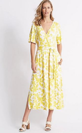 M&S wrap dress £45