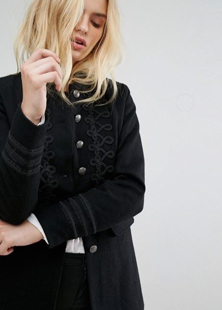 Only Military jacket at Asos £70