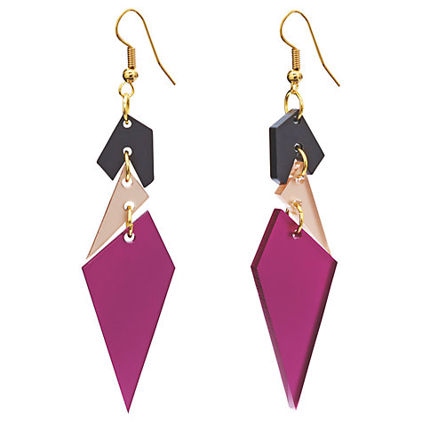 Toolally earrings loved&found John Lewis £35