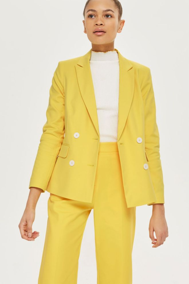 Topshop double breasted suit jacket £60