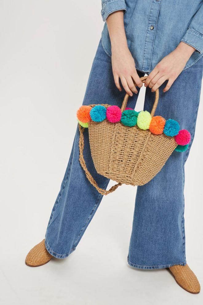 Topshop Pom-Pom shopper £24