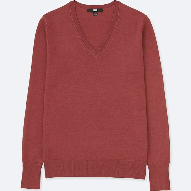 Uniqlo Extra fine merino wool £14.90, normally £24.90