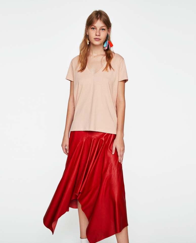 Zara Ecologically grown cotton tee £5.99