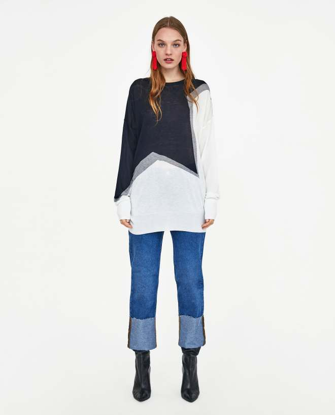 Zara sweater £19.99