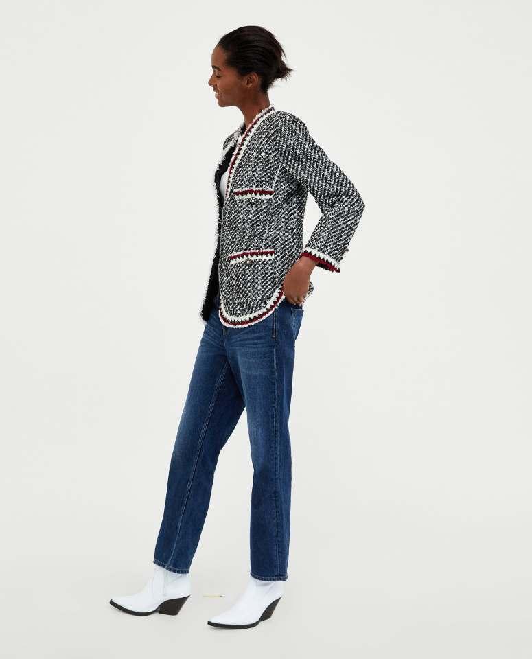 Zara tweed £89.99