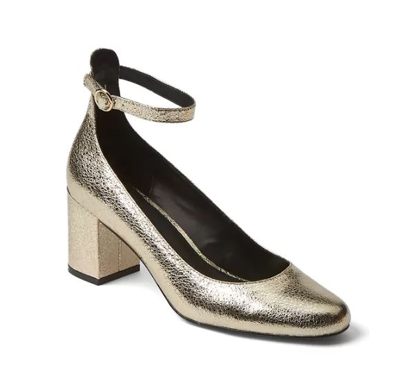 Gap metallic shoes £59.95