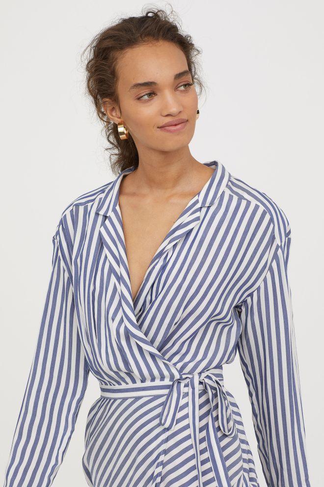 H&M striped dress £39.99