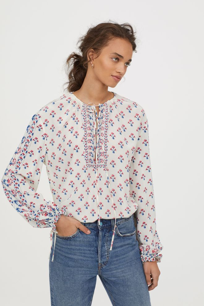 H&M wide blouse £34.99