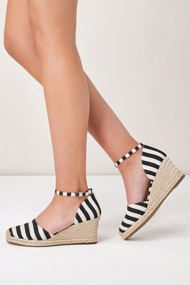 Next stripe espadrille £38