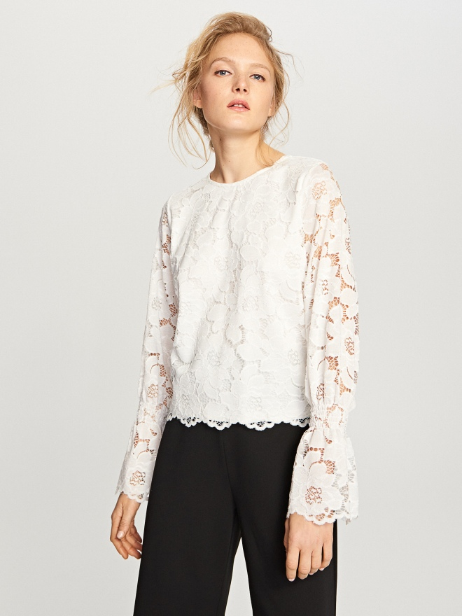 Reserved lace blouse £14.99