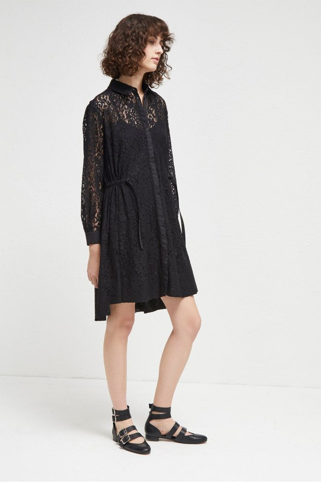 French Connection Tatus lace dress £75, was £125