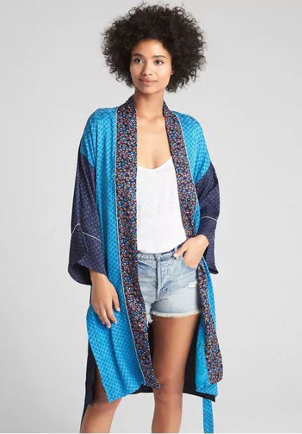 Gap Mix print Kimono £64.95