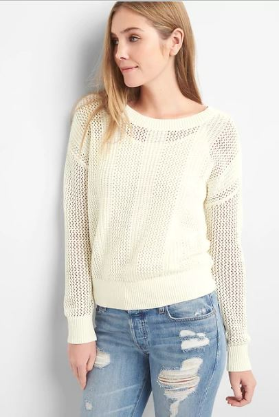 Gap Open stitch pullover sweater £34.95