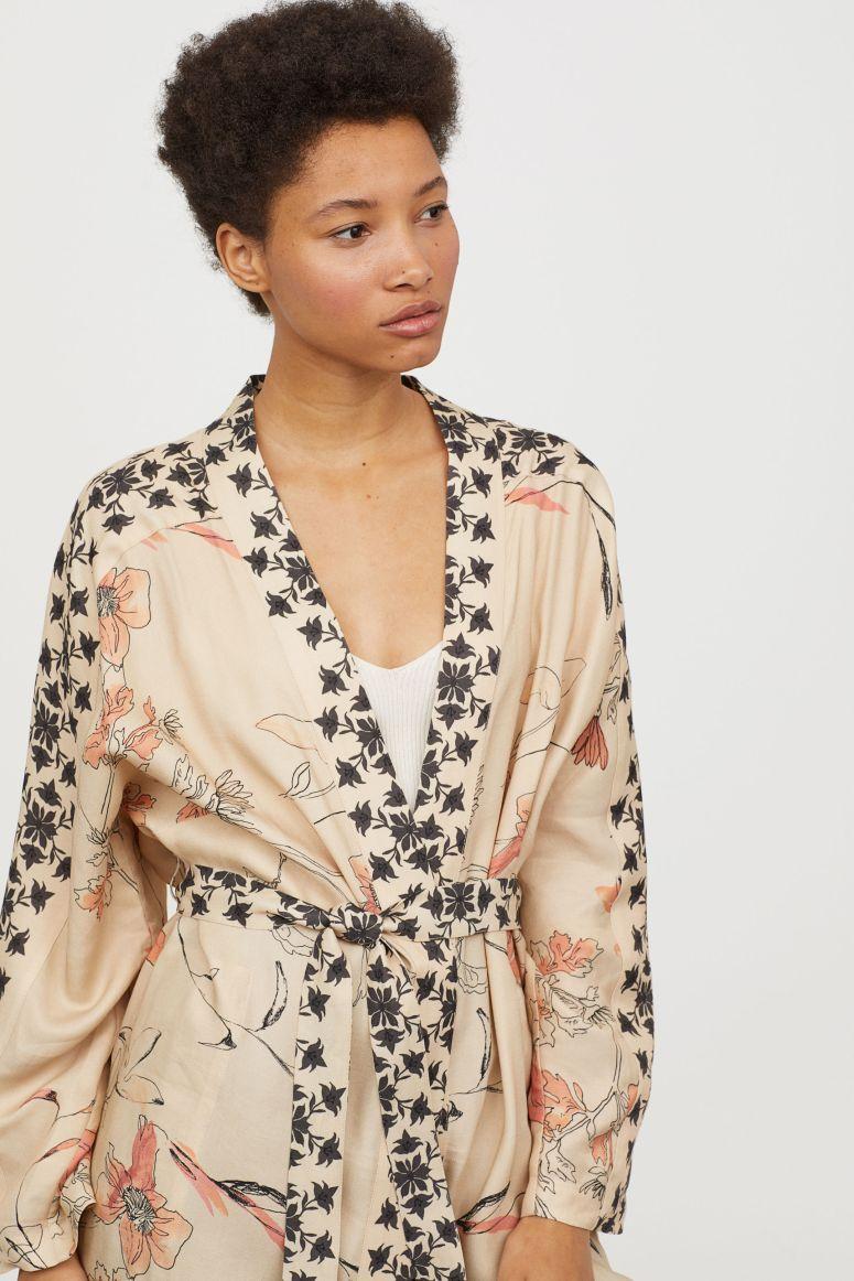 H&M linen blend kimono £69.99
