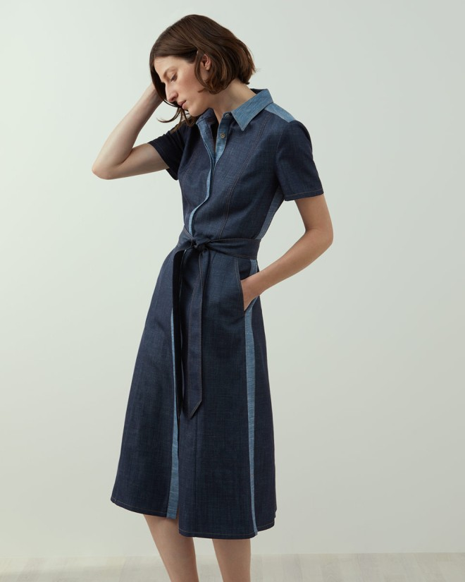 Jigsaw A-Denim dress £299