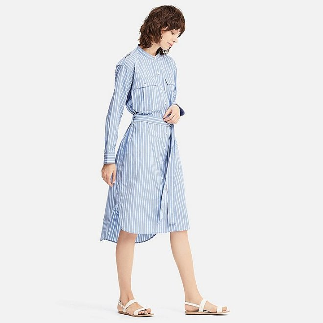 JW Anderson for Uniqlo cotton shirt dress £49.90