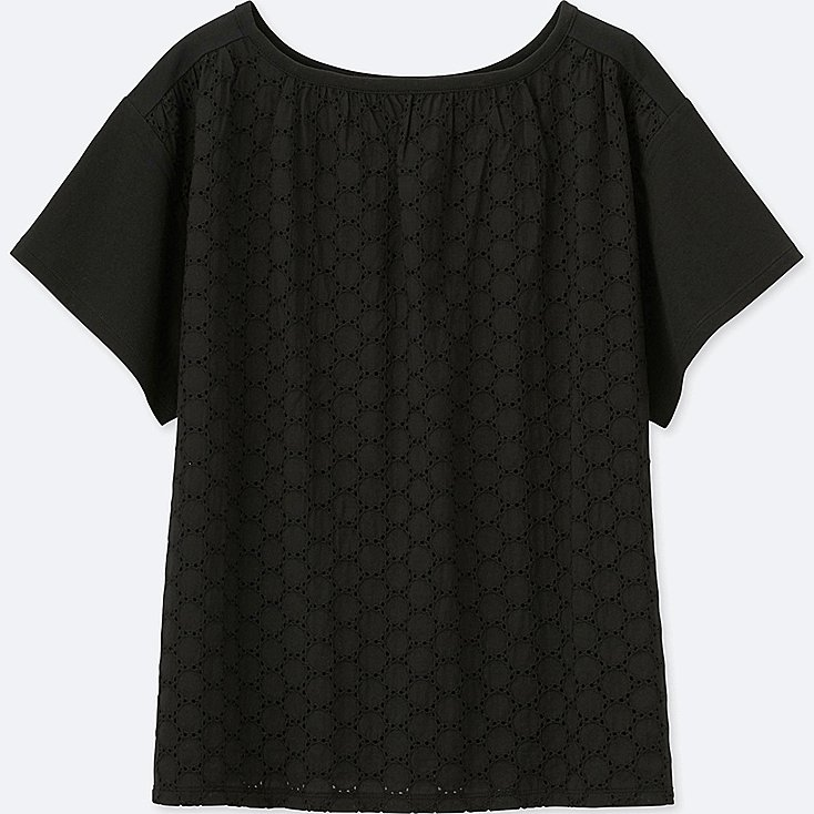 Two-way lace combination short sleeve tee £12.90