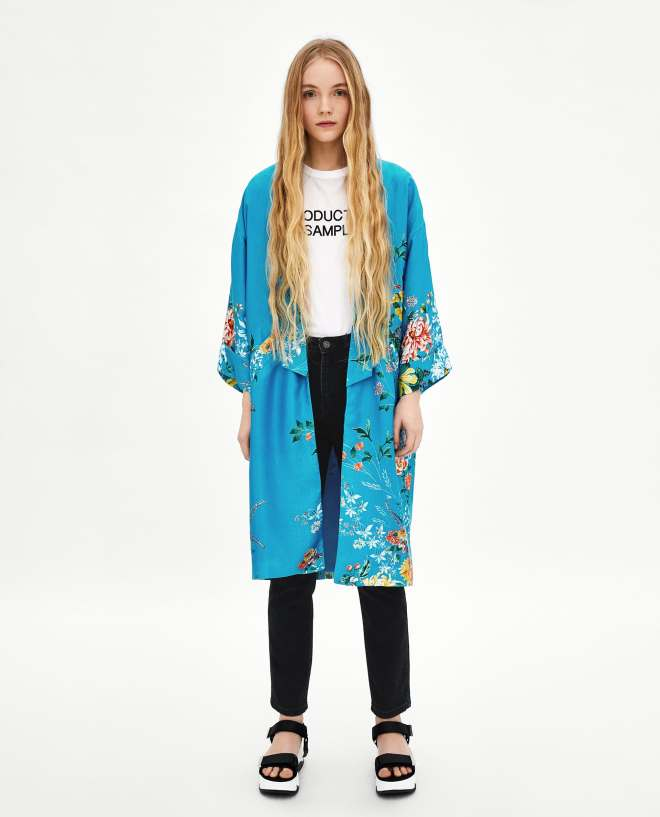 Zara printed kimono £69.99