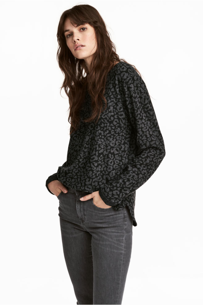 H&M boat-necked jersey top £12.99