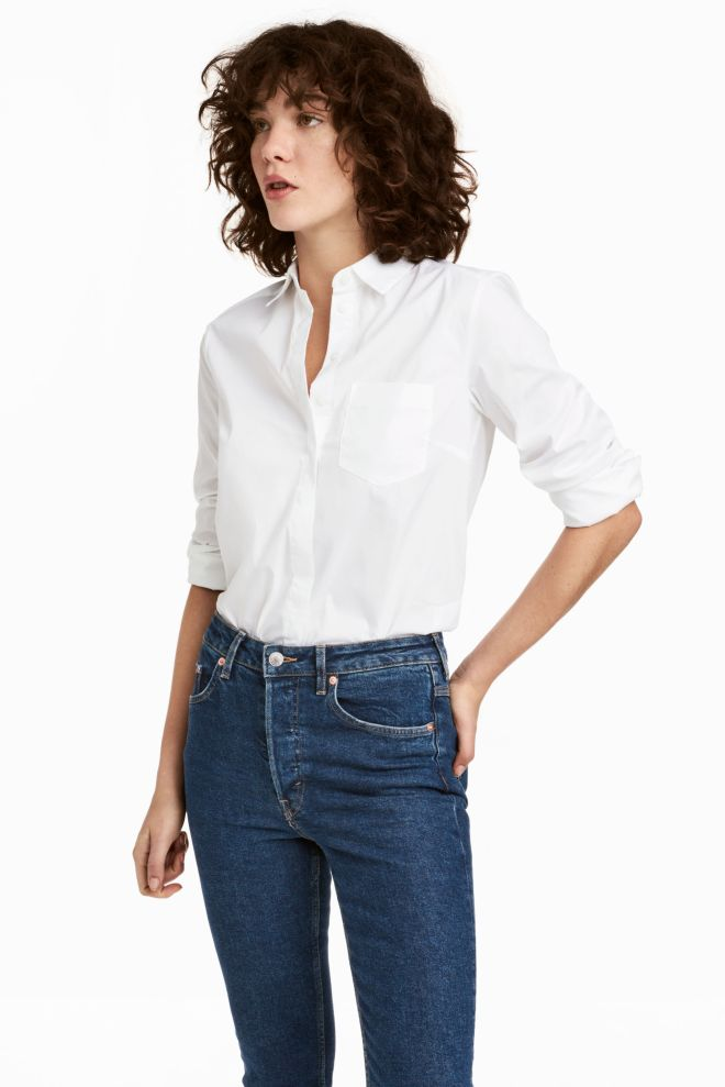H&M fitted shirt £12.99