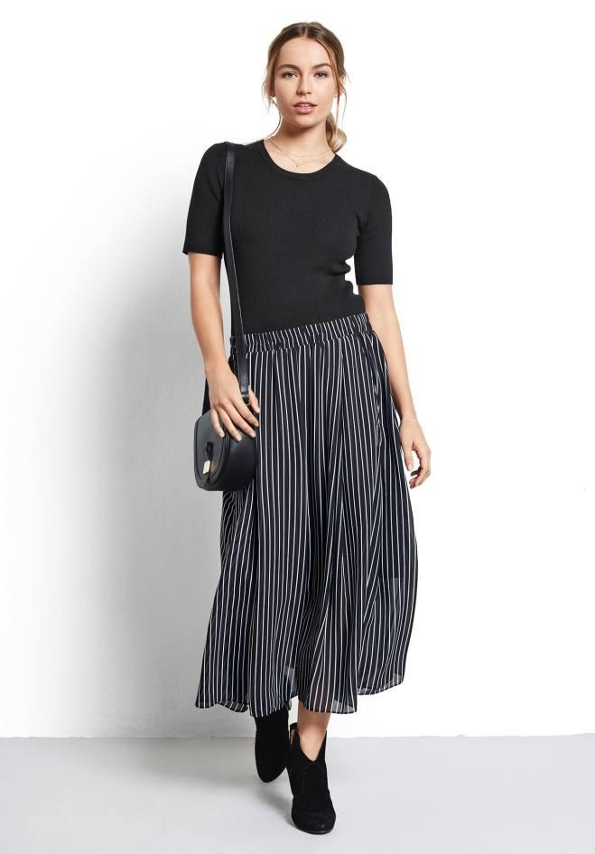 Hush Marina striped skirt £65