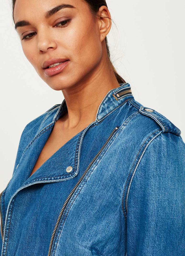 Mint Velvet Indigo denim jacket £109