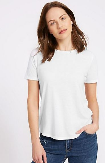 M&S relaxed crew neck t-shirt £7.50