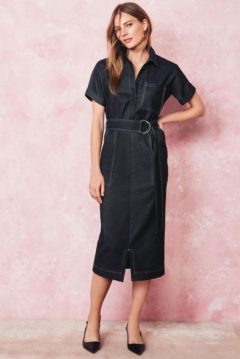 Denim Shirt Dress £45