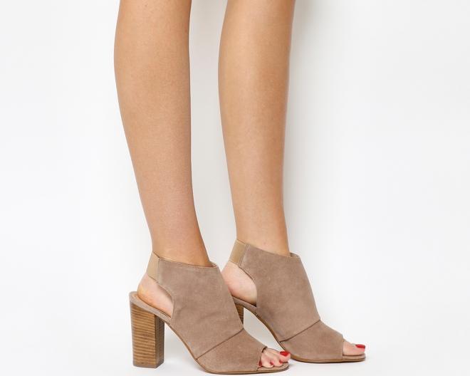 Office Hysteria Block heel shoe boot £65