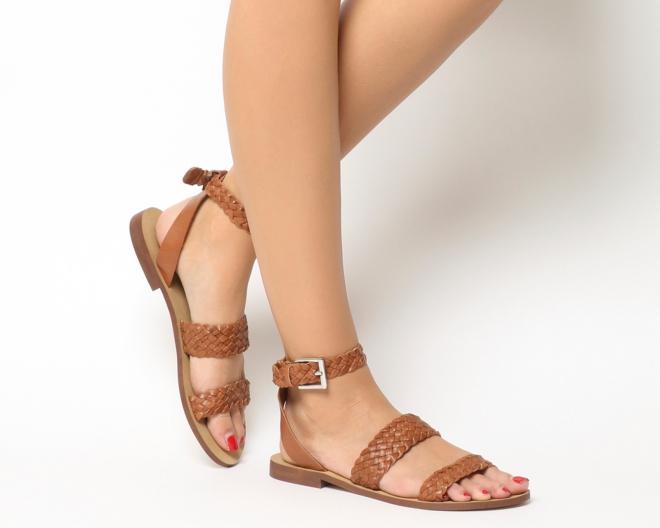 Office Springfield Weave Three strap sandals £42