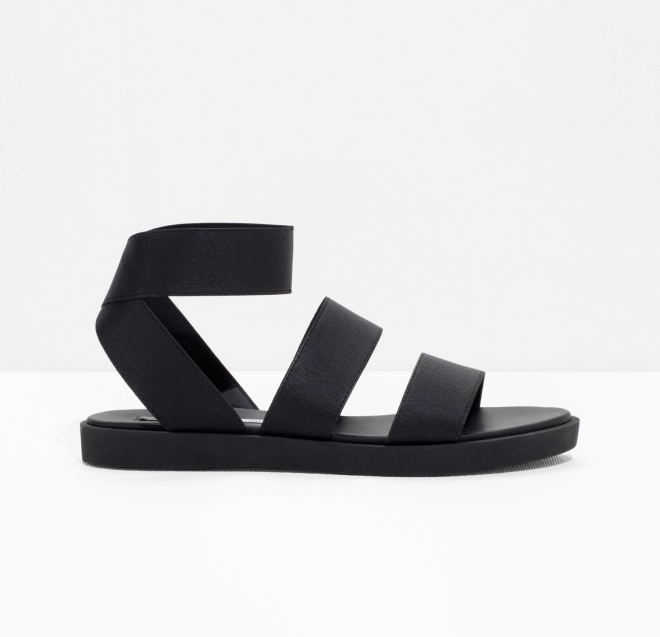 & Other Stories Elastic Strap sandal £49