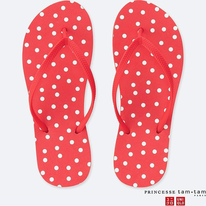 Princess Tam Tam x Uniqlo flip flops £9.90