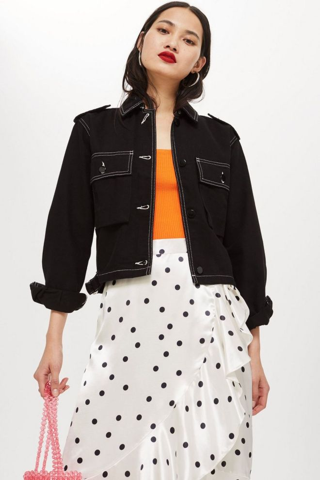 Topshop Cropped Utility jacket £39