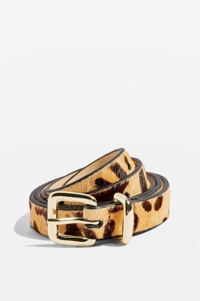 Topshop Leopard print belt £14