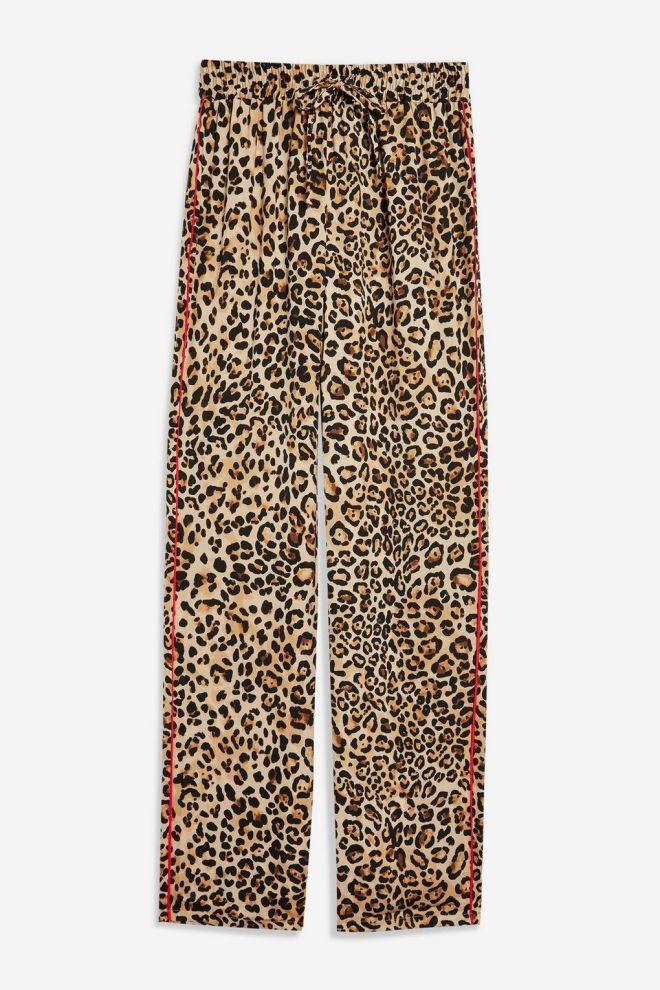 Topshop Leopard print trousers £36