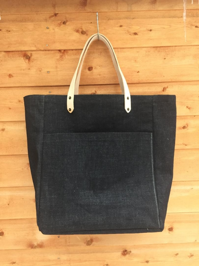 Whitehill Mercantile Co. denim shopper £80