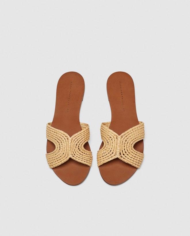 Zara flat sandals £29.99