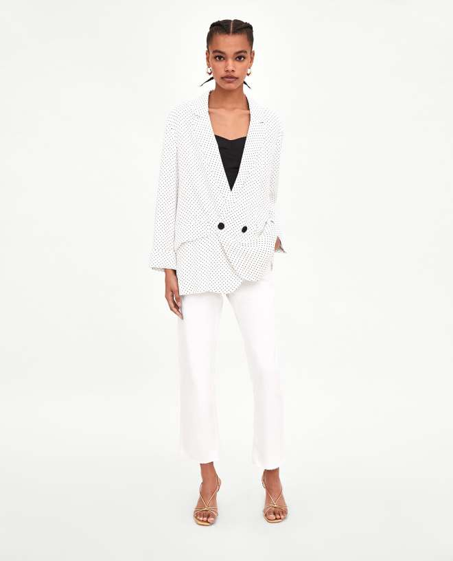 Zara Flowing jacket £19.99, was £49.99