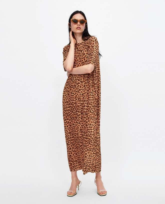 Zara pleated dress £19.99