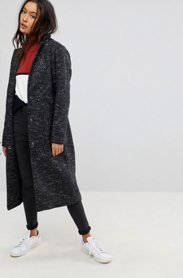 Asos Oversized Coat £72, was £90