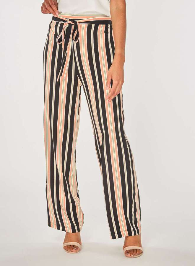 Dorothy Perkins Blush Stripe trousers £26