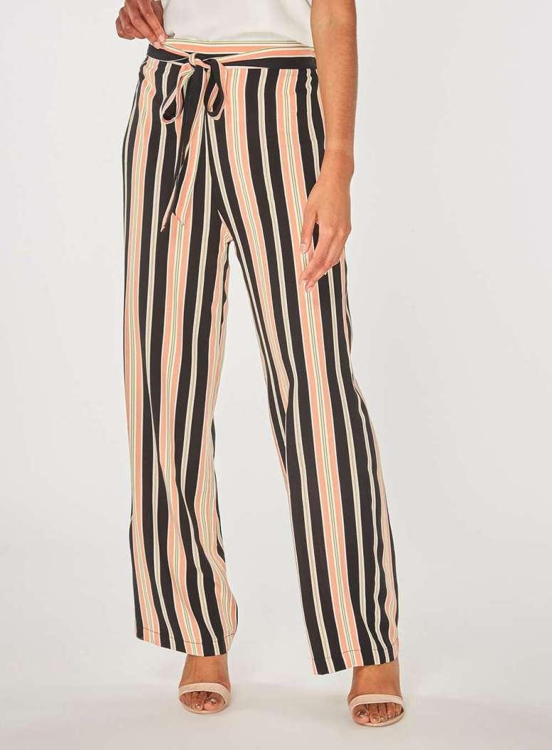 Dorothy Perkins Blush Stripe trousers £26