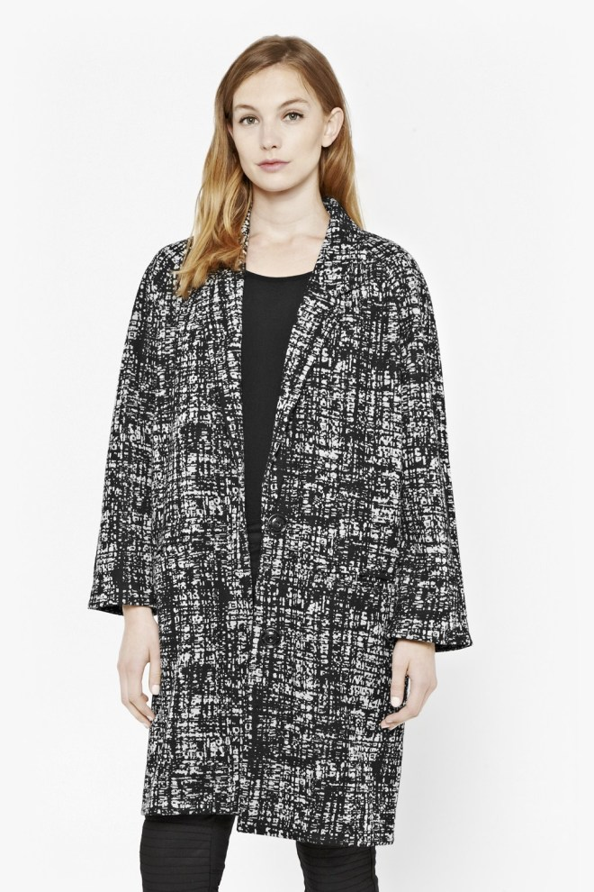 Great Plains, Cocoon Coat £34, was £85