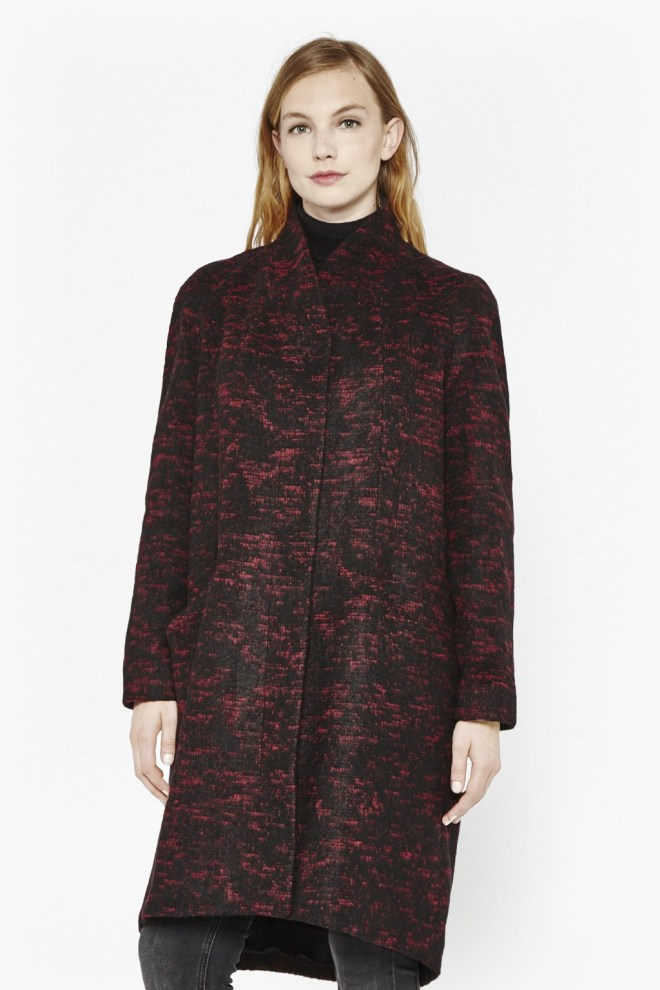 Great Plains Selecta Zip Cocoon Coat £45, was £145